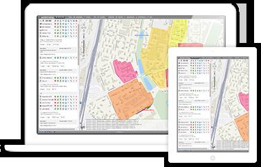 Мониторинг транспорта для планшетов и смартфонов